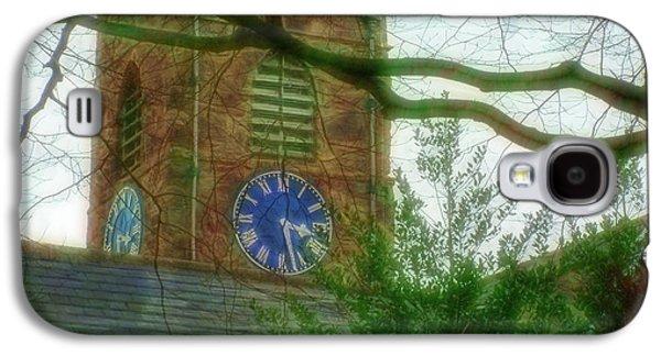 Ancient Galaxy S4 Cases - St Andrews Church in Corbridge 4 Galaxy S4 Case by Cindy Nunn