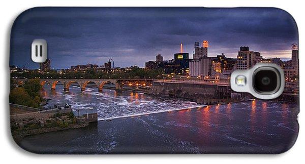Minnesota Galaxy S4 Cases - St. Anthony Falls Galaxy S4 Case by Bryan Scott
