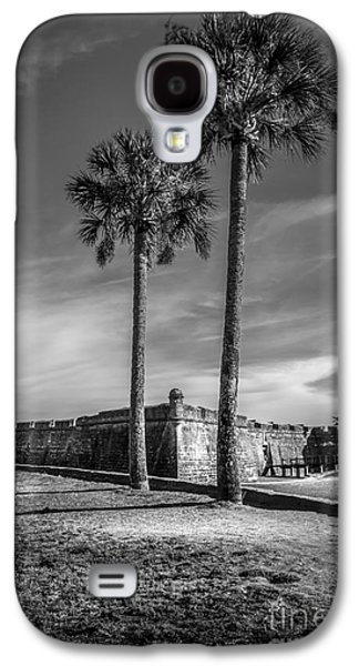Waterscape Galaxy S4 Cases - St. Augustine Fort Galaxy S4 Case by Marvin Spates