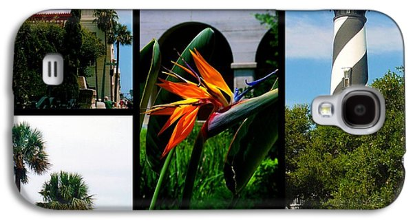 St George Galaxy S4 Cases - St Augustine in Florida - 3 Collage Galaxy S4 Case by Susanne Van Hulst