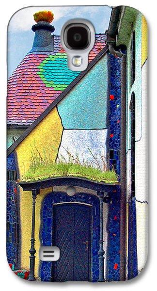 Recently Sold -  - Religious Galaxy S4 Cases - St Barbara Church - Baernbach Austria Galaxy S4 Case by Christine Till