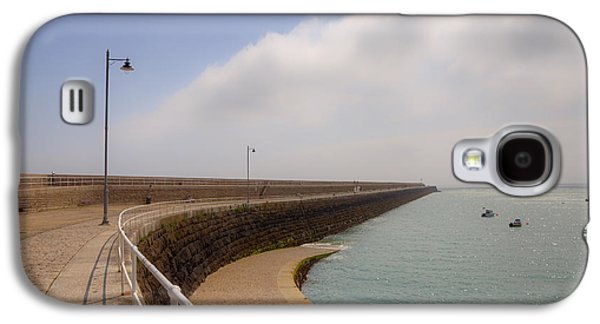 Catherine Galaxy S4 Cases - St Catherines Breakwater - Jersey Galaxy S4 Case by Joana Kruse
