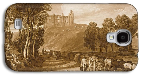 Catherine Galaxy S4 Cases - St Catherines Hill near Guildford Galaxy S4 Case by Joseph Mallord William Turner
