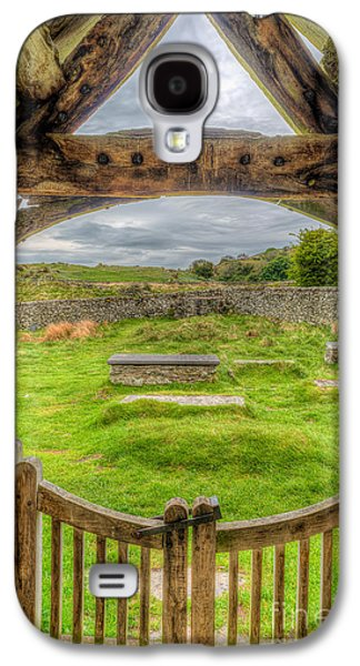 Cemetary Galaxy S4 Cases - St Celynnin Graveyard Galaxy S4 Case by Adrian Evans