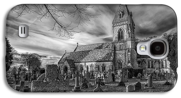 Graveyard Galaxy S4 Cases - St Davids Pantasaph Galaxy S4 Case by Adrian Evans