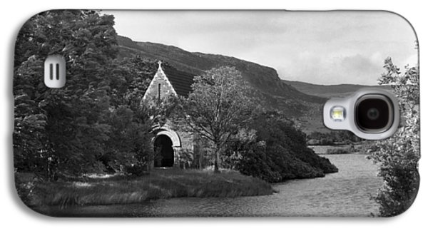 Gougane Barra Church Photographs Galaxy S4 Cases - St Finbarrs Monastery Cork 1954 Galaxy S4 Case by Irish Photo Archive