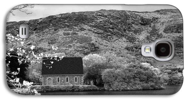 Gougane Barra Church Photographs Galaxy S4 Cases - St Finbarrs Oratory - Gougane Barra  Galaxy S4 Case by Lyle McNamara