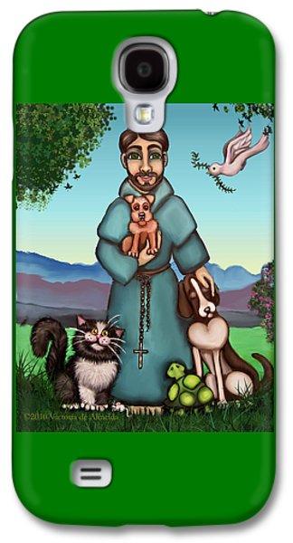 St. Francis Libertys Blessing Galaxy S4 Case by Victoria De Almeida