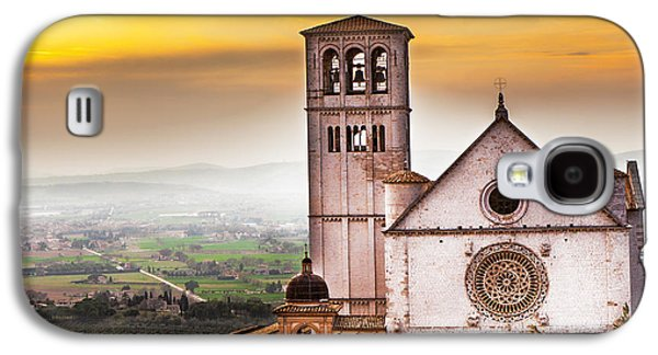 Francis Photographs Galaxy S4 Cases - St Francis of Assisi Church at Sunrise  Galaxy S4 Case by Susan  Schmitz