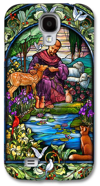 St. Francis Of Assisi Galaxy S4 Case by Randy Wollenmann