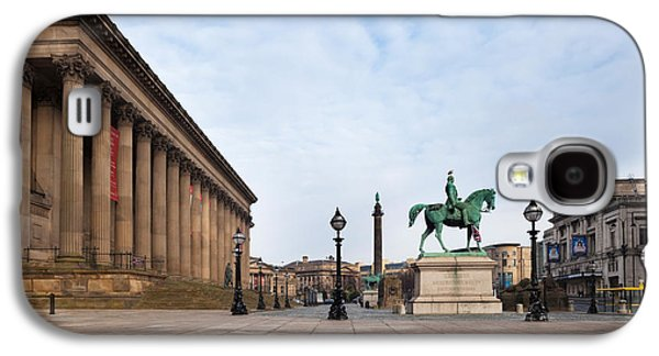 St George Galaxy S4 Cases - St Georges Hall, Liverpool, Merseyside Galaxy S4 Case by Panoramic Images