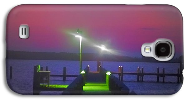 St George Galaxy S4 Cases - St. Georges Island Dock - Just Before Sunrise Galaxy S4 Case by Bill Cannon