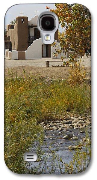 Taos Galaxy S4 Cases - St. Jerome - Taos Pueblo Galaxy S4 Case by Mike McGlothlen