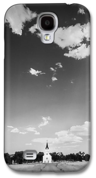 St John The Evangelist Galaxy S4 Cases - St John the Evangelist Catholic Church BW Galaxy S4 Case by Rich Franco