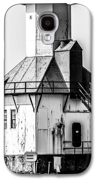 Lake House Galaxy S4 Cases - St. Joseph Lighthouse Vertical Panorama Picture  Galaxy S4 Case by Paul Velgos