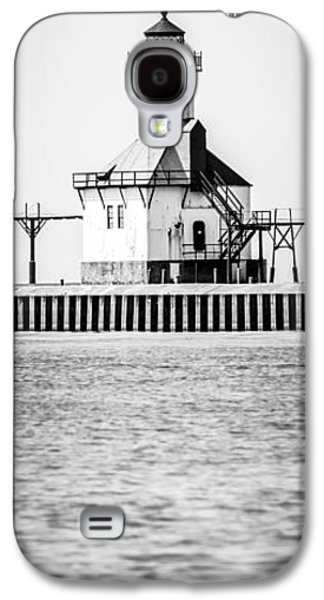 Saint Joseph Galaxy S4 Cases - St. Joseph Lighthouse Vertical Panoramic Photo Galaxy S4 Case by Paul Velgos