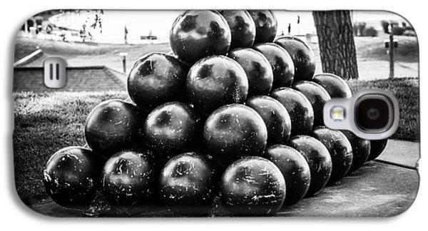 St. Joseph Michigan Cannon Balls Picture Galaxy S4 Case by Paul Velgos