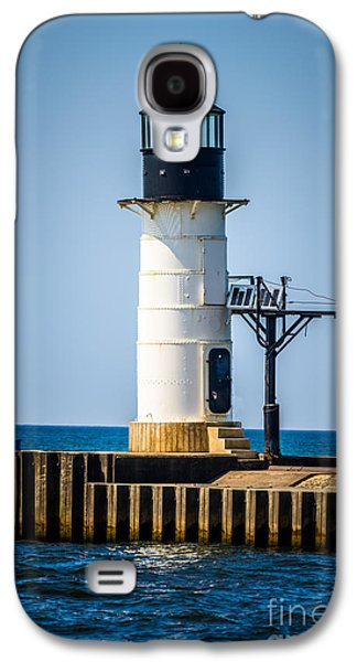 Lake House Galaxy S4 Cases - St. Joseph Outer Lighthouse Photo Galaxy S4 Case by Paul Velgos