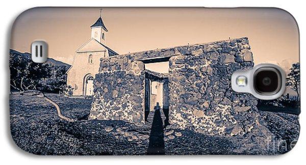 St. Josephs Church Maui Hawaii Galaxy S4 Case by Edward Fielding