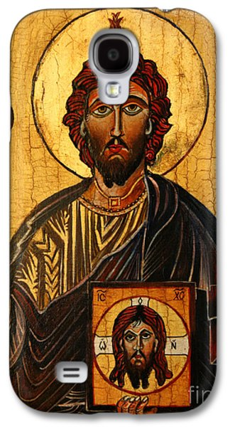 Pentecost Galaxy S4 Cases - St. Jude The Apostle Galaxy S4 Case by Ryszard Sleczka