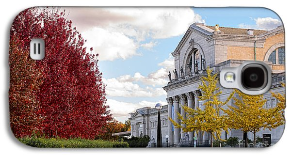 Colum Galaxy S4 Cases - St. Louis Art Museum Galaxy S4 Case by Cindy Tiefenbrunn