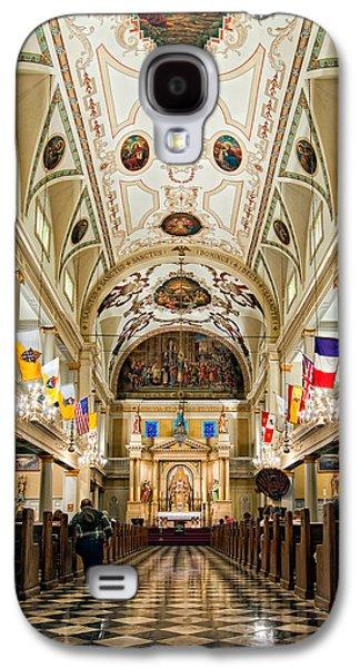 Steve Harrington Galaxy S4 Cases - St. Louis Cathedral Galaxy S4 Case by Steve Harrington