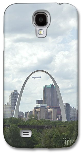 Kay Pickens Galaxy S4 Cases - St. Louis Cityscape Galaxy S4 Case by Kay Pickens