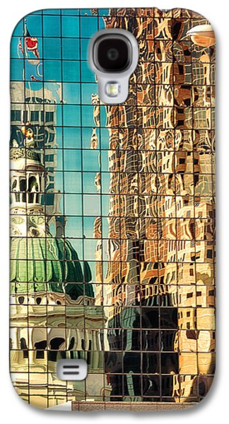 St. Louis Old Courthouse Reflected Galaxy S4 Case by Jon Woodhams