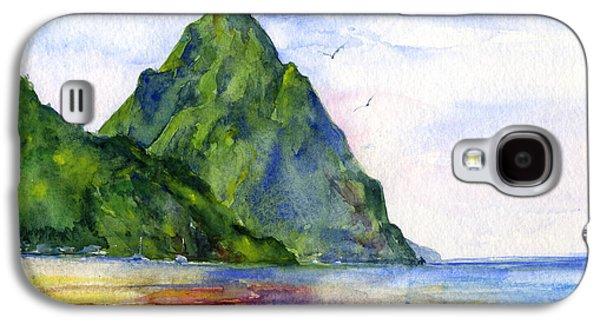 St. Lucia Galaxy S4 Case by John D Benson
