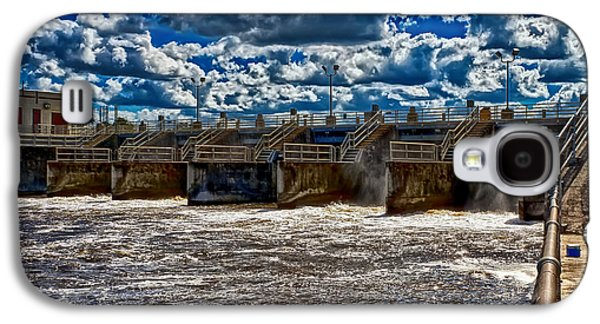 St. Lucie County Galaxy S4 Cases - St Lucie Lock and Dam 3 Galaxy S4 Case by Dan Dennison