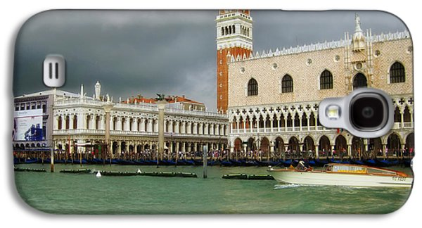 Beauty Mark Photographs Galaxy S4 Cases - St Marks Square - Venice Galaxy S4 Case by Mountain Dreams