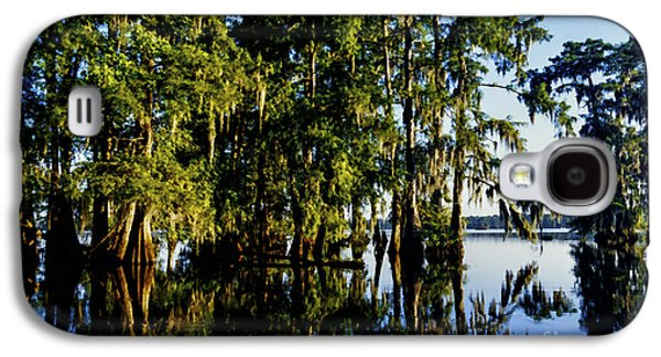 St Martin Parish Lake Martin Cypress Swamp Galaxy S4 Case by Thomas R Fletcher