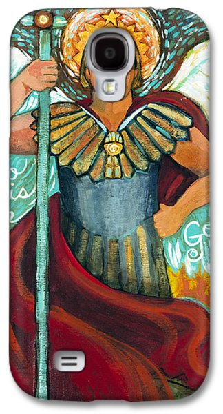 Book Of Daniel Galaxy S4 Cases - St. Michael the Archangel Galaxy S4 Case by Jen Norton