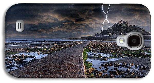 Michael Photographs Galaxy S4 Cases - St Michaels Mount Cornwall Galaxy S4 Case by Martin Newman