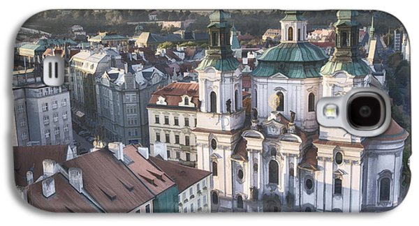 Religious Galaxy S4 Cases - St Nicholas Prague Galaxy S4 Case by Joan Carroll