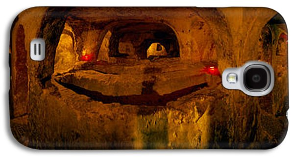 Rabat Photographs Galaxy S4 Cases - St. Pauls Catacombs, Rabat, Malta Galaxy S4 Case by Panoramic Images