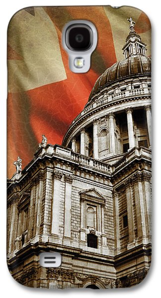 Landmarks Photographs Galaxy S4 Cases - St Pauls Cathedral Galaxy S4 Case by Mark Rogan