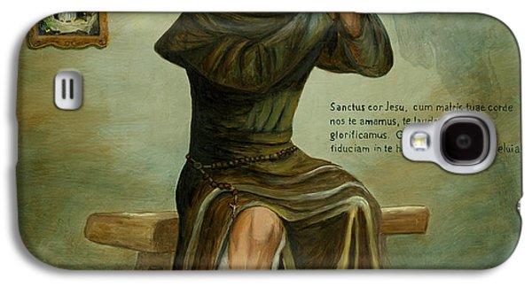Religious Galaxy S4 Cases - St Peregrine Galaxy S4 Case by Cecilia  Brendel
