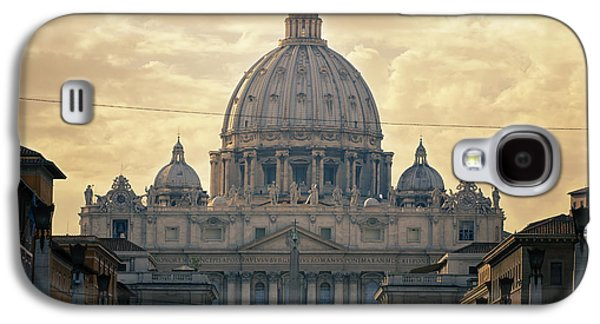 Ancient Galaxy S4 Cases - St Peters Afternoon Glow Galaxy S4 Case by Joan Carroll
