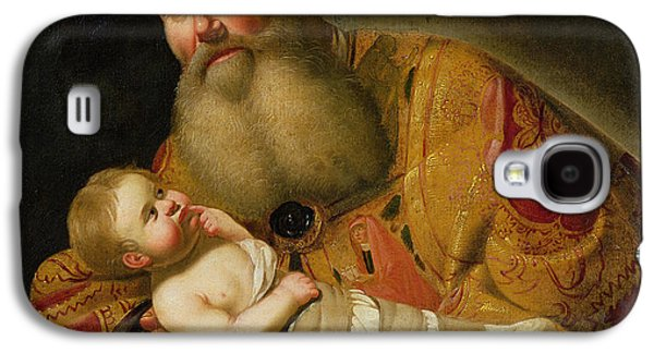 Christ Child Galaxy S4 Cases - St. Simeon Presenting The Infant Christ In The Temple Oil On Canvas Galaxy S4 Case by Jan van Bijlert or Bylert