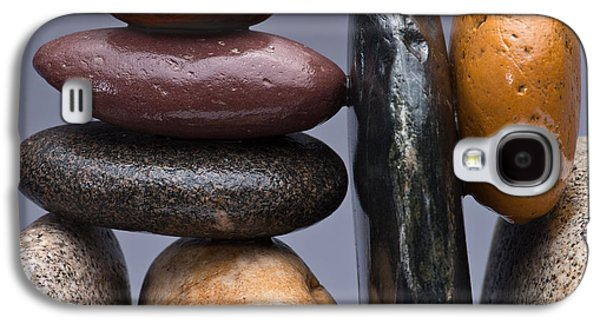 Pebbles Galaxy S4 Cases - Stacked Stones 2 Galaxy S4 Case by Steve Gadomski