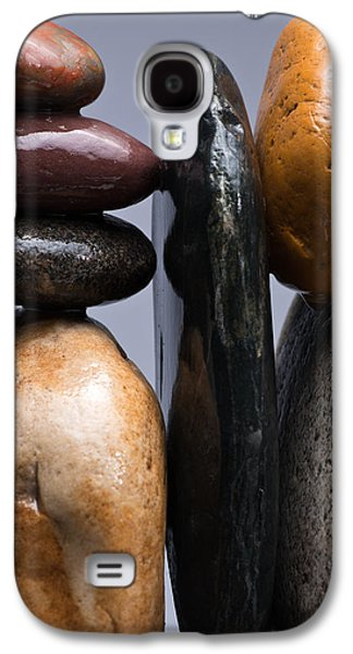Studio Photographs Galaxy S4 Cases - Stacked Stones 4 Galaxy S4 Case by Steve Gadomski