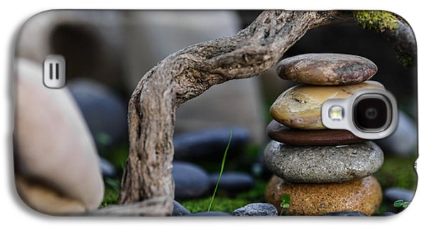 Mystic Setting Galaxy S4 Cases - Stacked Stones A2 Galaxy S4 Case by Marco Oliveira