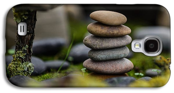 Mystic Setting Galaxy S4 Cases - Stacked Stones B1 Galaxy S4 Case by Marco Oliveira