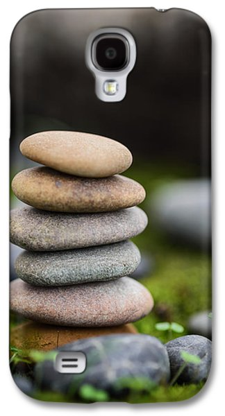 Mystic Setting Galaxy S4 Cases - Stacked Stones B2 Galaxy S4 Case by Marco Oliveira