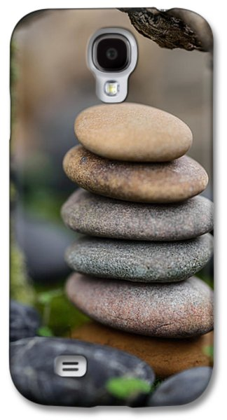 Mystic Setting Galaxy S4 Cases - Stacked Stones B6 Galaxy S4 Case by Marco Oliveira