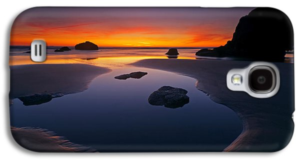 Stacks And Stones Galaxy S4 Case by Mike  Dawson