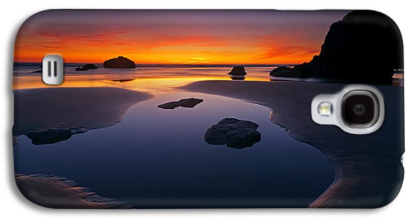 Coast Galaxy S4 Cases - Stacks and Stones Galaxy S4 Case by Mike  Dawson
