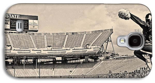 Stadium Cheer Black And White Galaxy S4 Case by Tom Gari Gallery-Three-Photography