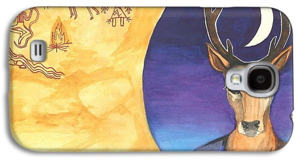 Stag Dreamer Galaxy S4 Case by Cat Athena Louise
